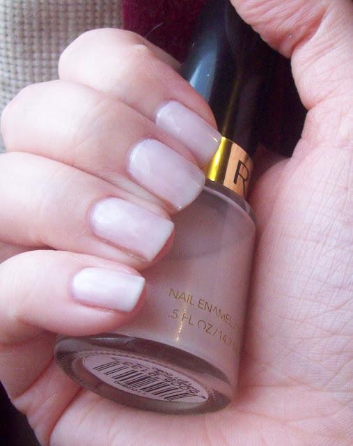 Geordie Nails: Revlon ~ Sheer Pink
