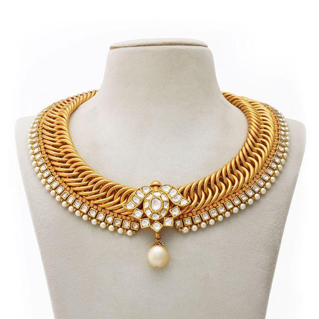 Attractive Polki Diamond Chokers