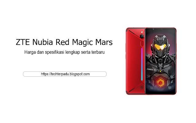 Harga dan Spesifikasi lengkap ZTE Nubia Red Magic Mars Terbaru
