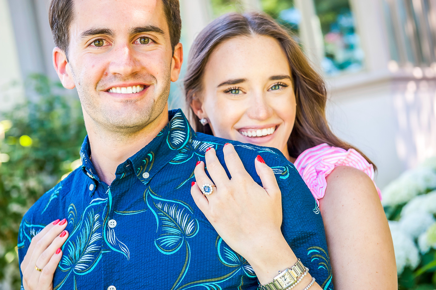 Engagement Ring featured by popular New York style blogger, Covering the Bases