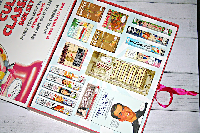 theBalm Cult Classics Box Contents