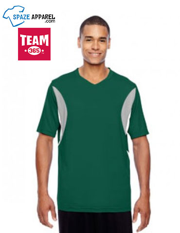 Team 365 TT10 Men's Short-Sleeve Athletic V-Neck All Sport Jersey