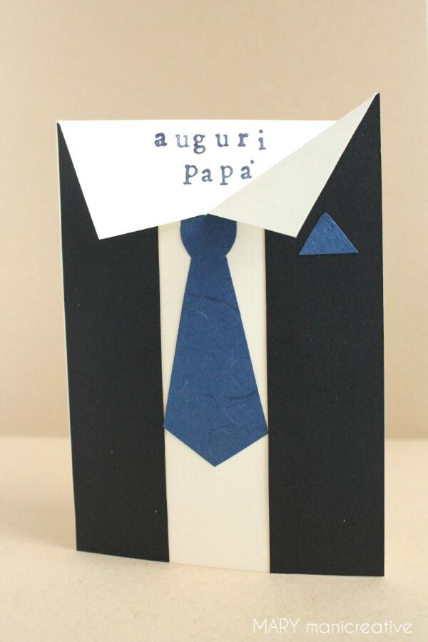 Tutorial-Card per la festa del Papà