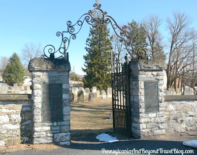 Paxton Presbyterian Churchyard Cemetery in Harrisburg Pennsylvania