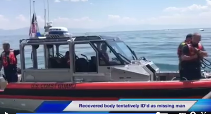 Body of Missing Windsurfer in Lake Tahoe For Over One Year Recovered