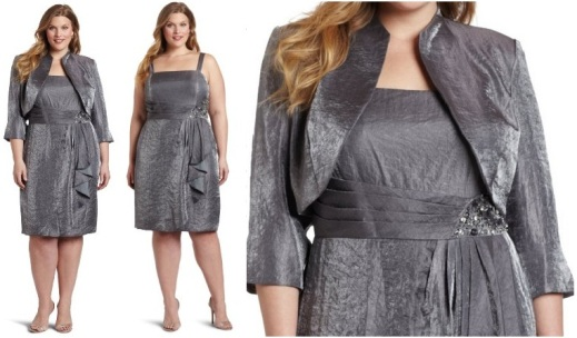 Flattering Mother Of The Bride Dresses: ##New Year's Eve Plus Size Dresses####