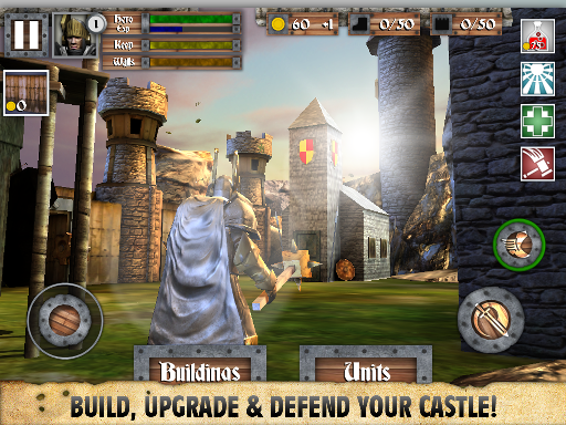 Heroes and Castles MOD APK+DATA Android (Unlimited Gems/Heroes Unlocked)