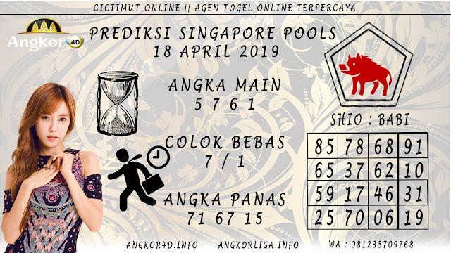 Prediksi Angka Jitu SINGAPORE POOLS 18 APRIL 2019