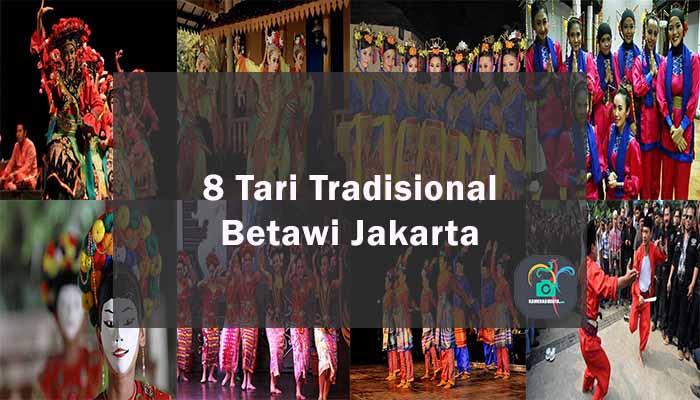 Inilah 8 Tarian Tradisional Betawi Dari Jakarta
