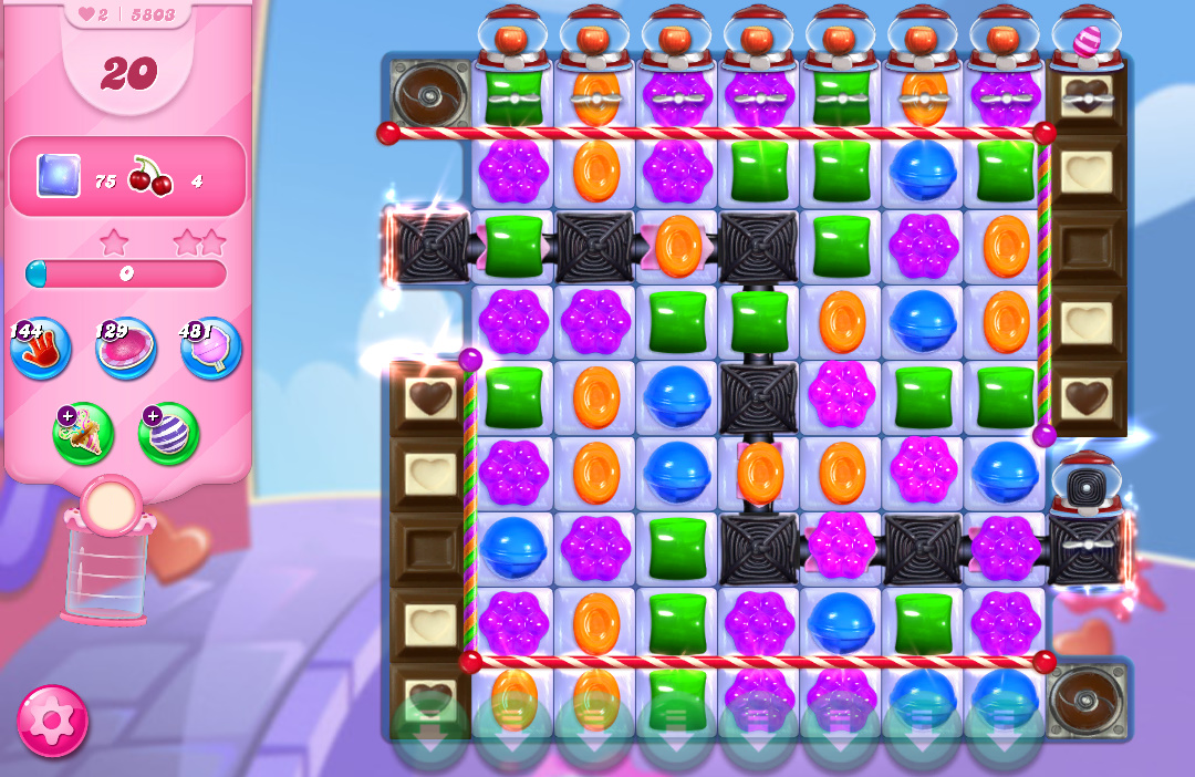 Candy Crush Saga level 5803