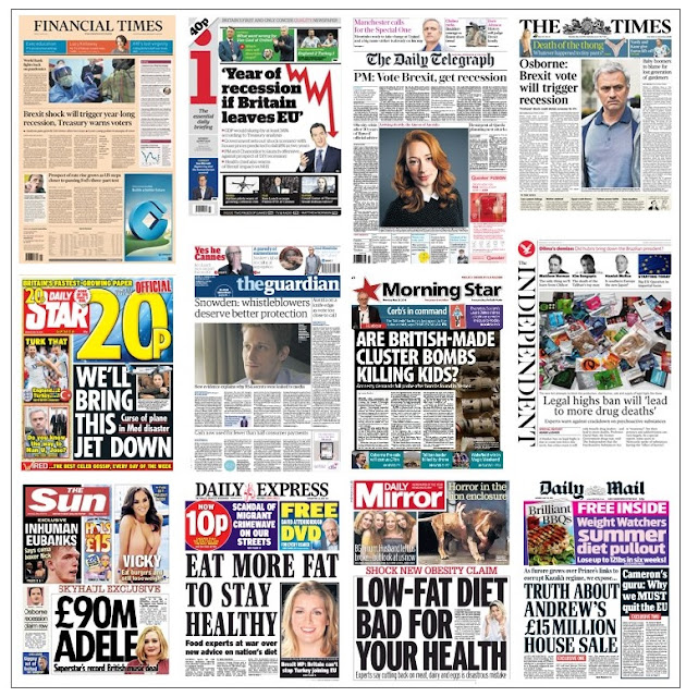 front pages 23-05-16