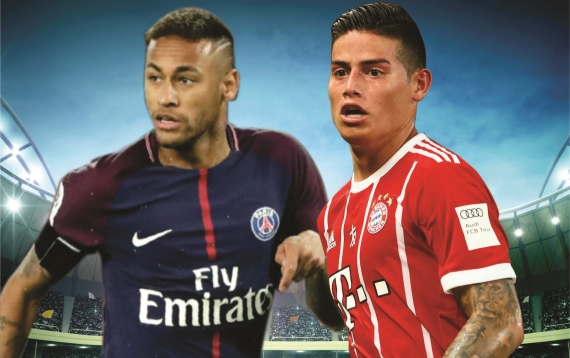 Paris Saint-Germain host Bayern Munich in the pick of this week's UEFA Champions League action.