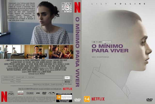 Capa DVD O Mínimo Para Viver [Exclusiva]