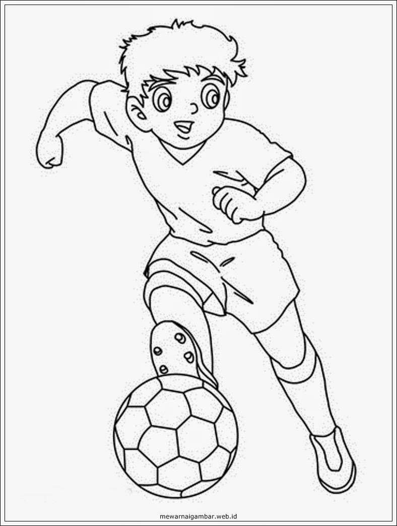 Gambar Kartun Anak Olahraga | Top Gambar