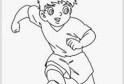 Catatanku Anak Desa Gambar Mewarnai Pemain Bola