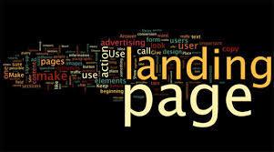 cara buat landing page blogspot percuma