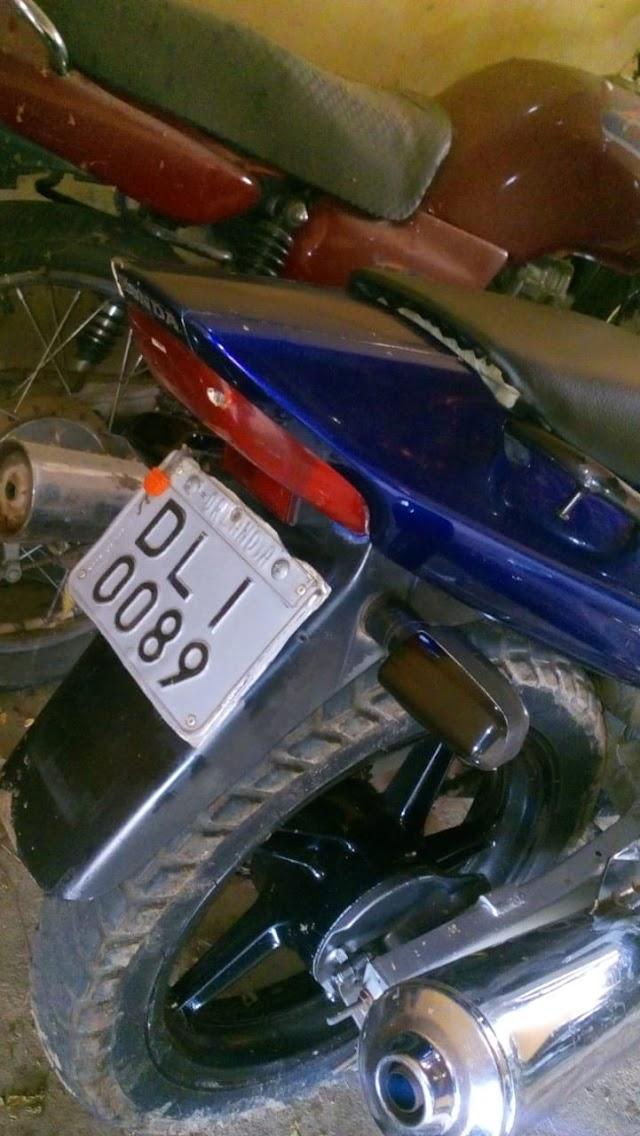 No começo das atividades ostensivas de final de ano em Elesbão Veloso, PM apreende motocicletas com cano kadron.