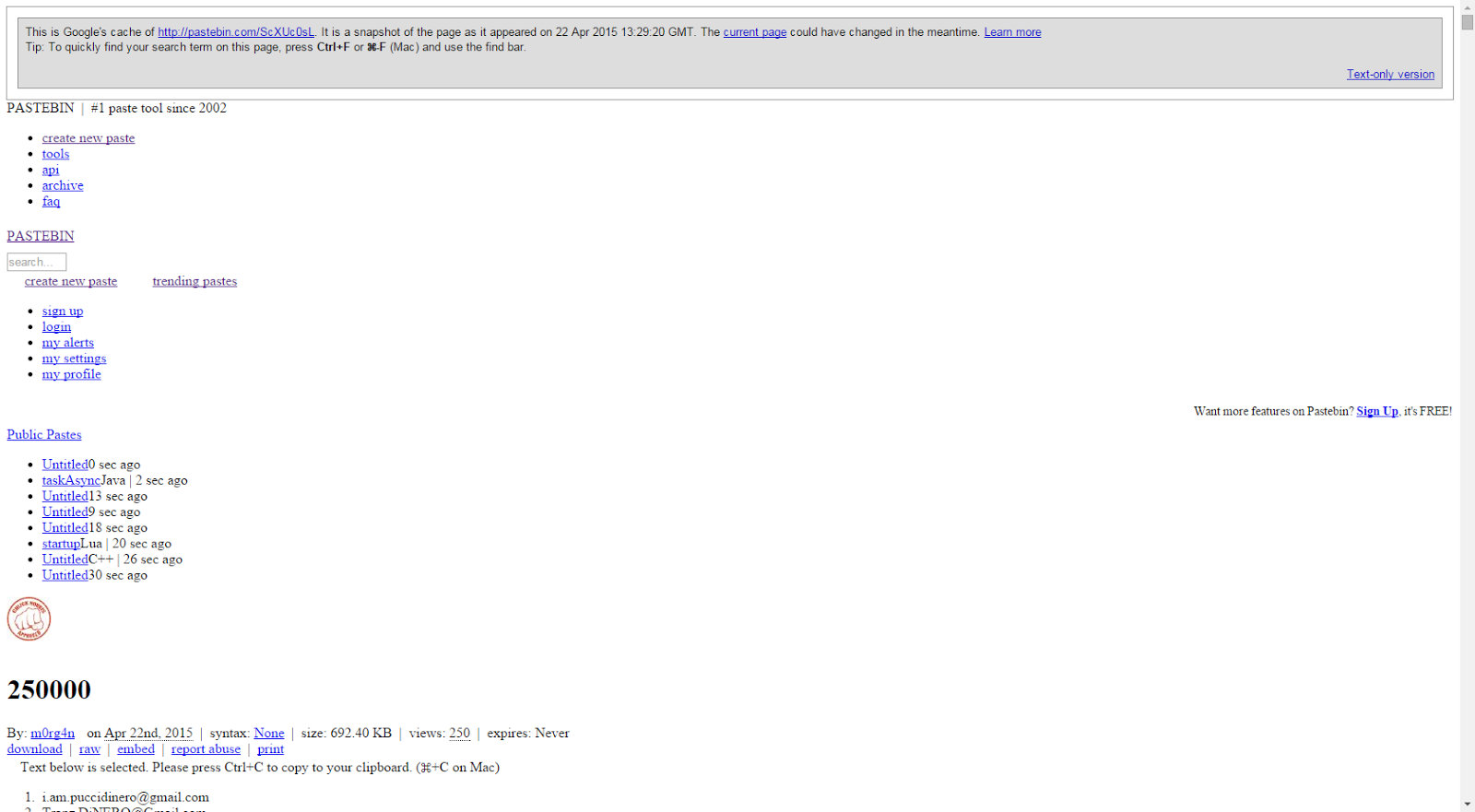 How to view Removed OR Private pastes on Pastebin?