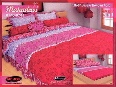 Sprei Bed Cover My Love Mahadewi