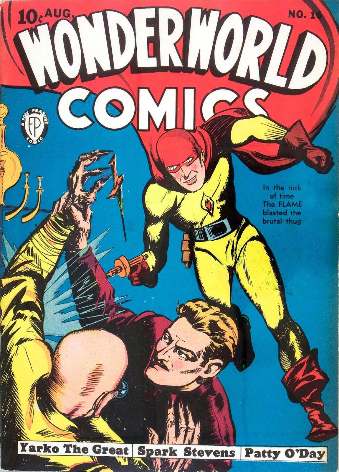Wonderworld Comics issue 16 - Page 1