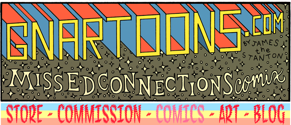Gnartoons: Missed Connections Comix Stockpile