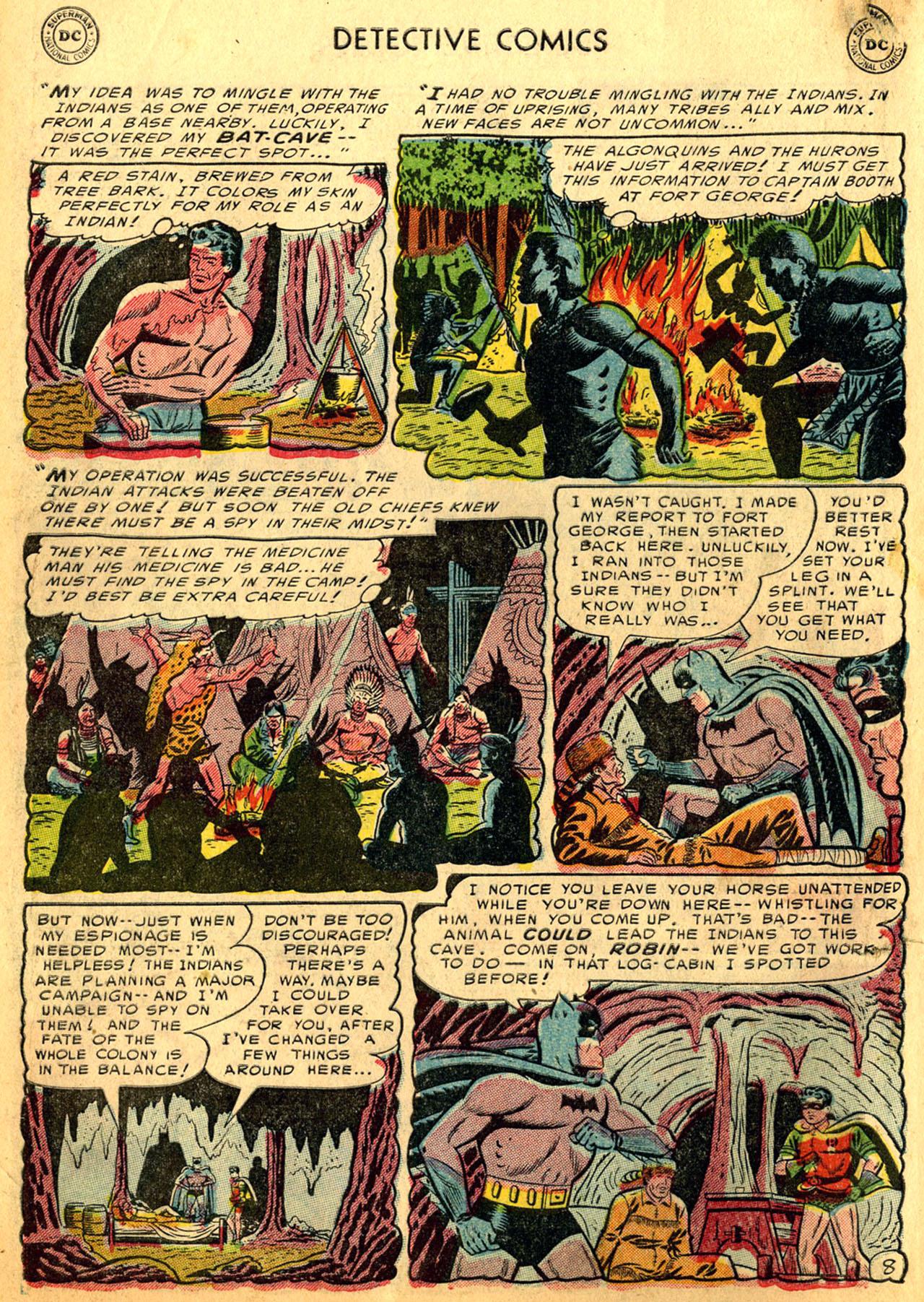 Read online Detective Comics (1937) comic -  Issue #205 - 10