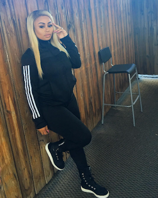Pregnant Blac Chyna shared these new photos on her page.