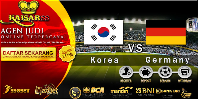 Prediksi Bola Jitu South Korea vs Germany 27 Juni 2018