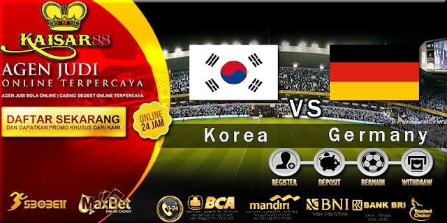 Prediksi Bola Jitu South Korea vs Germany 27 Juni 2018