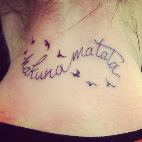 20 Unique Hakuna Matata Tattoos Ideas And Designs