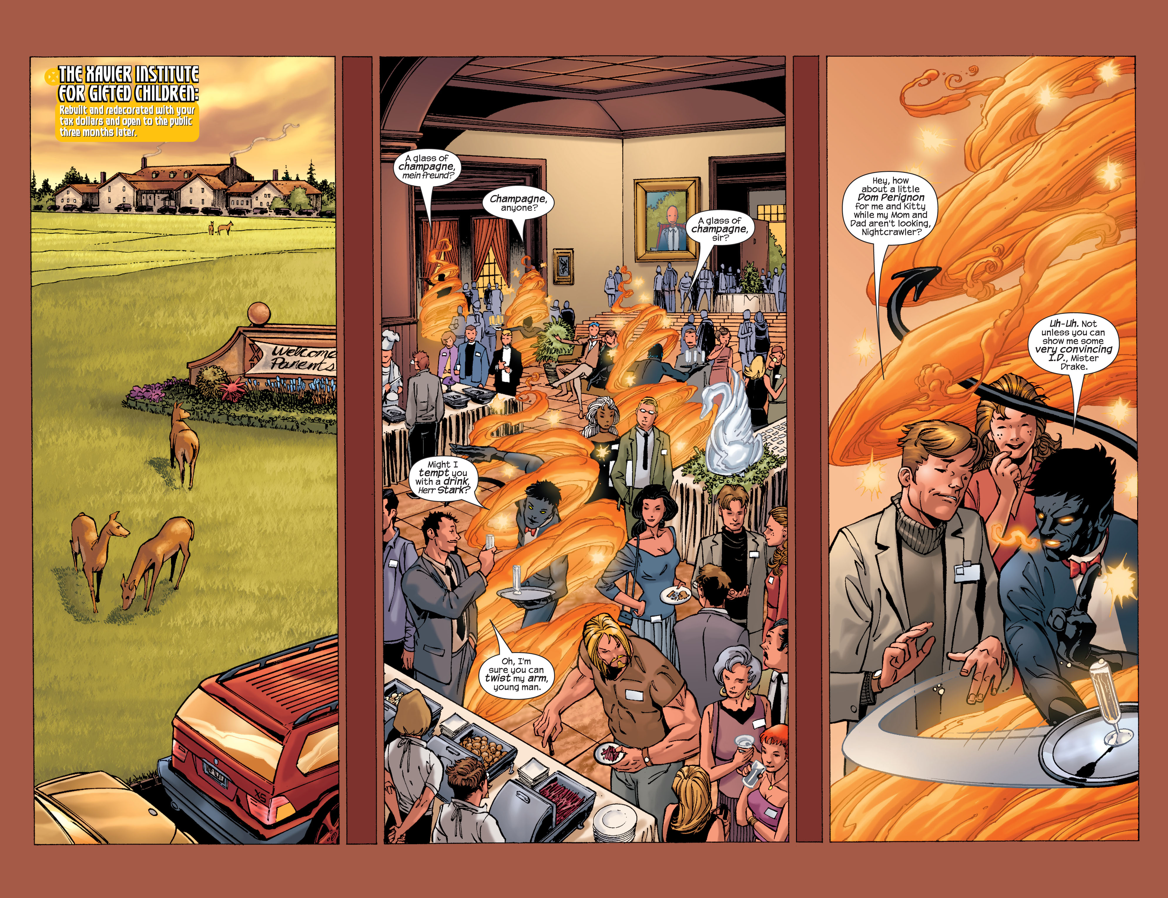 Read online Ultimate X-Men comic -  Issue #32 - 12