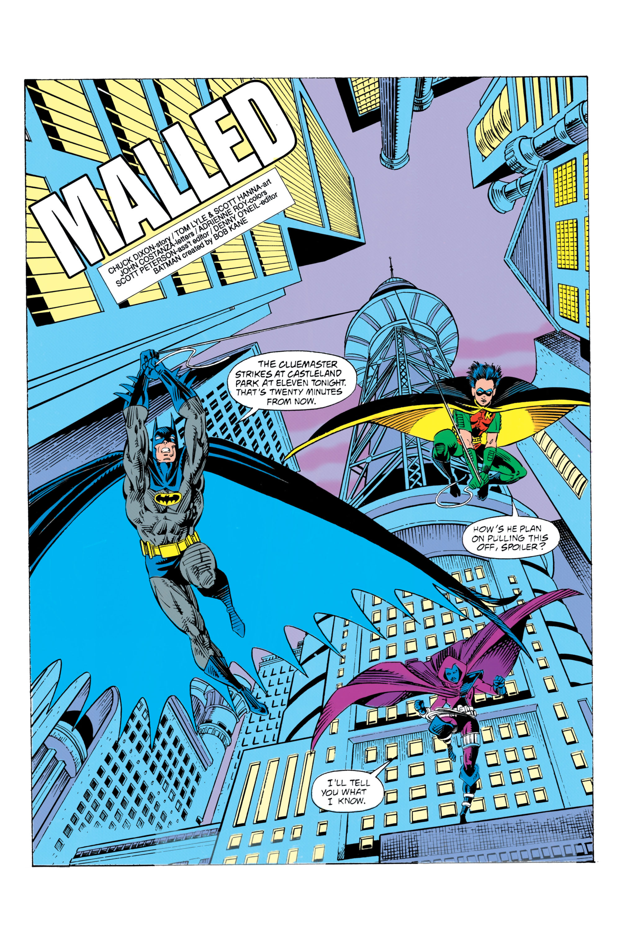 Detective Comics (1937) 649 Page 1