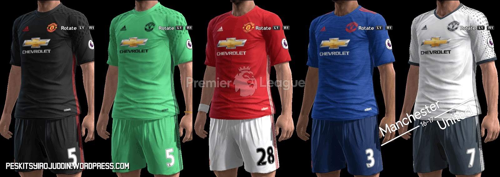 Pes kits 2017 pictures free download - Manchester United Kits 2016 17