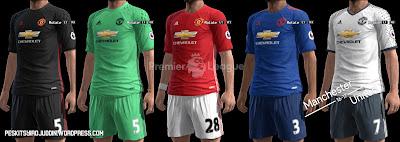 Manchester United Kits 2016/17