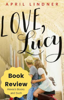 book review of Love, Lucy by April Lindner