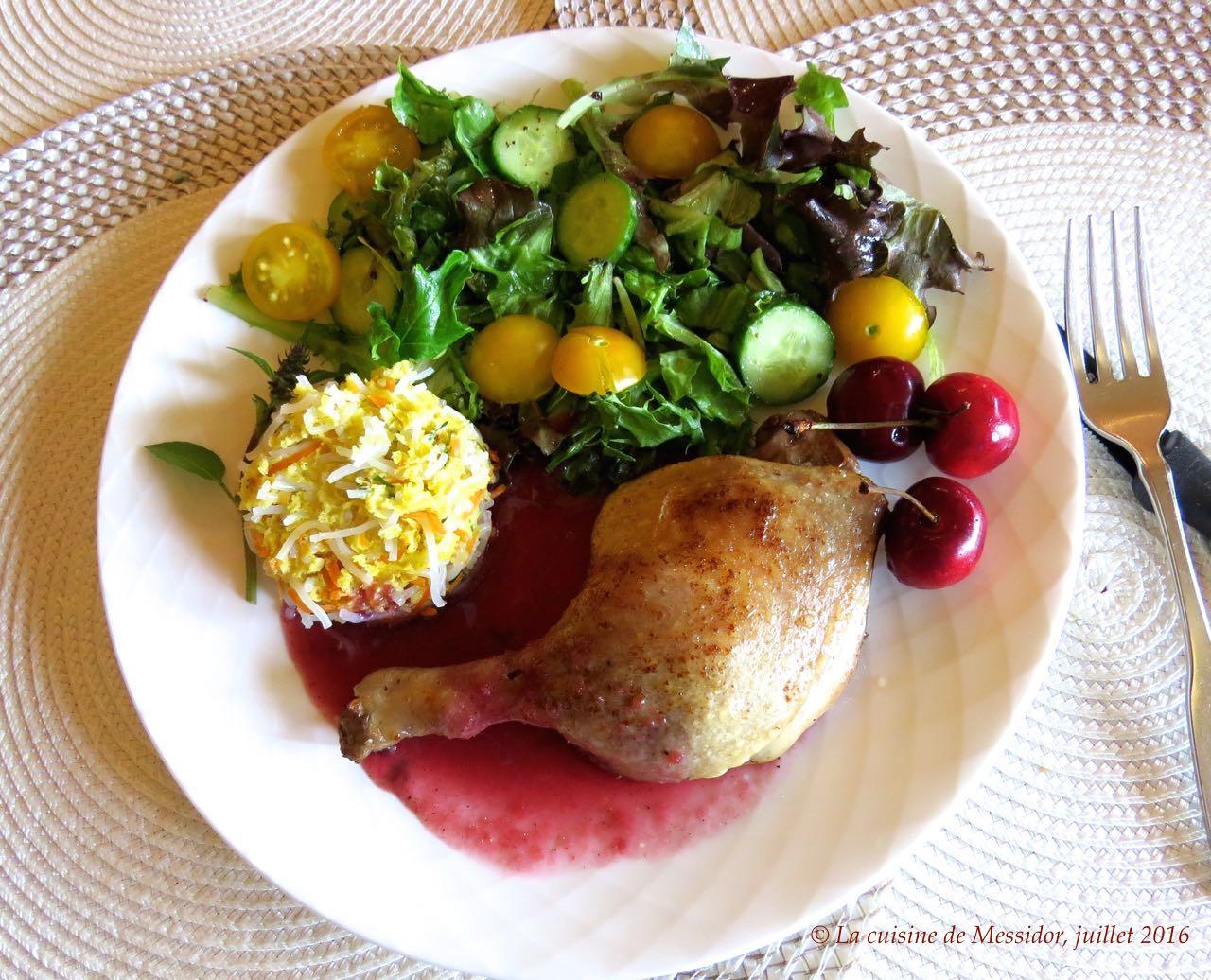 La cuisine de messidor cuisses de canard brais es aux - Comment cuisiner des cuisses de canard fraiches ...