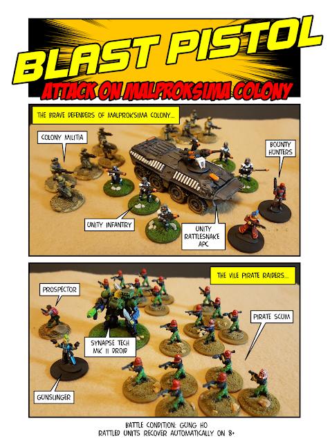 Blast Pistol Comic Report Page 1