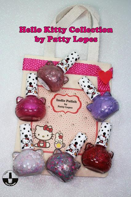 """Coleção de Esmaltes Artesanais da """"Hello Kitty"""""""