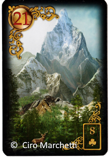 Gilded Reverie Lenormand Mountain