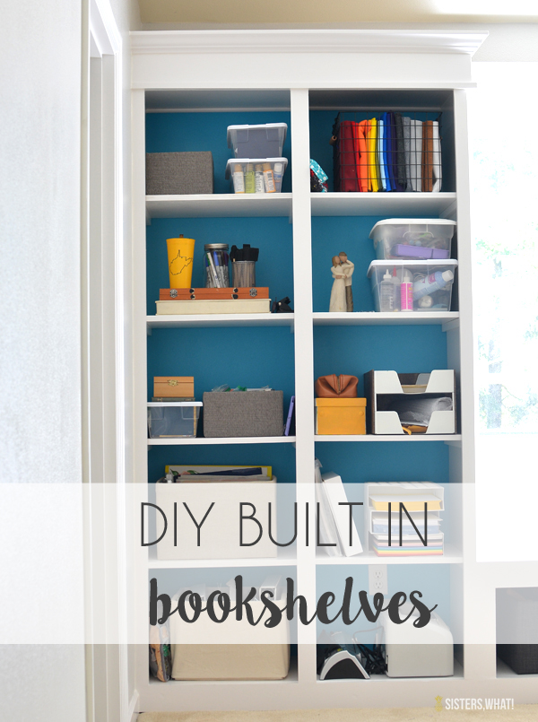to save money, build your own bookshelves!