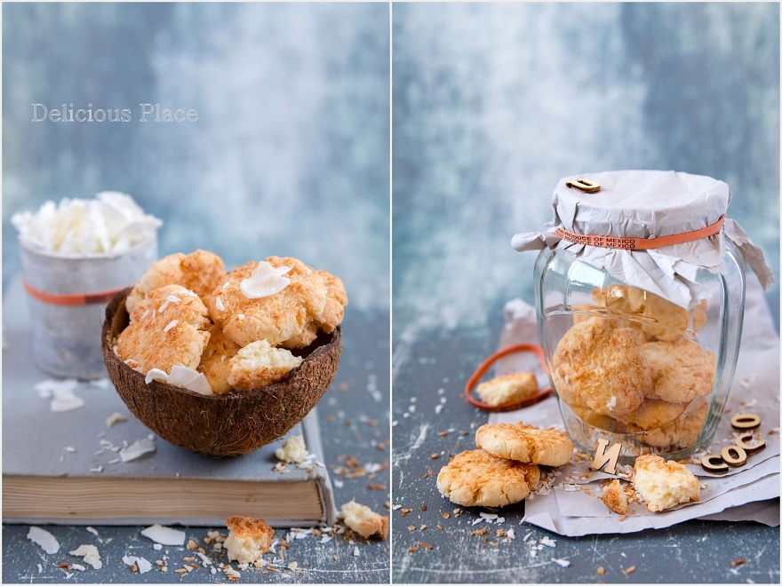 Ciasteczkowe kokosanki - wegańskie i bezglutenowe