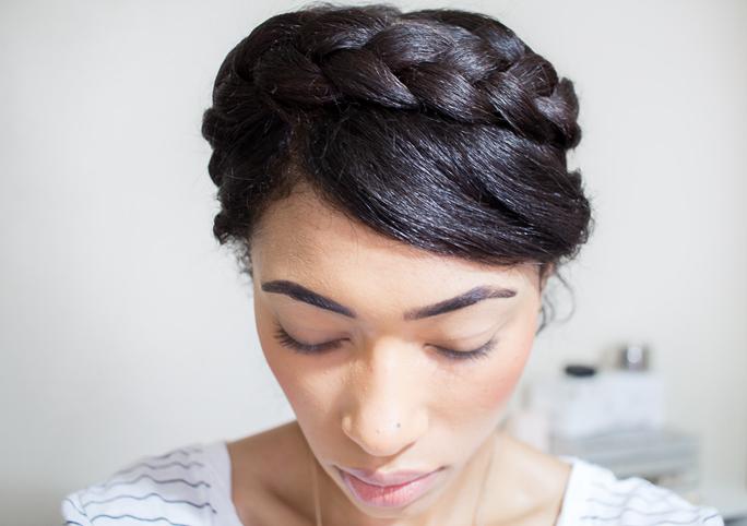 Hairstyles Halo Braid : Fresh Lengths: Hair Halo Braid