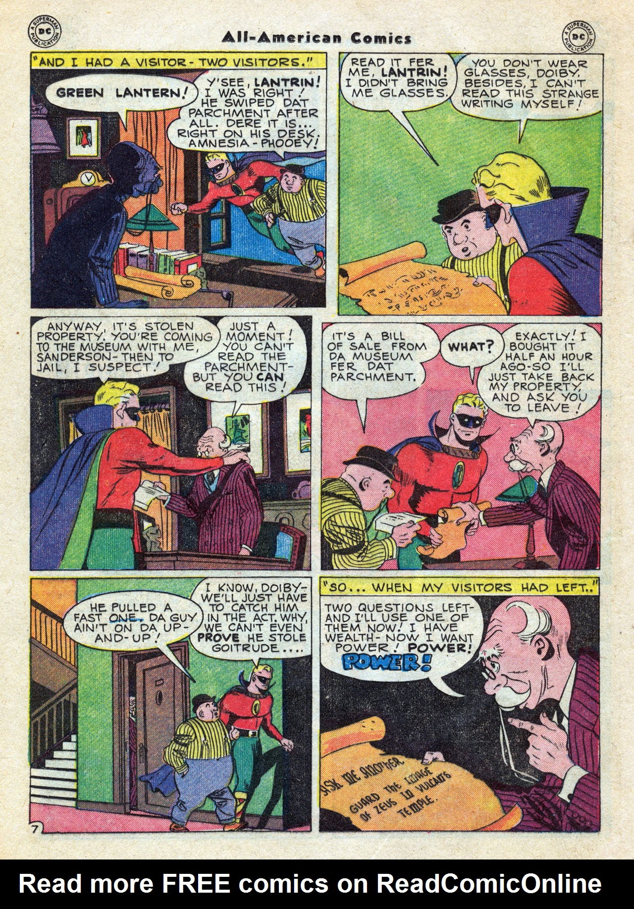 Read online All-American Comics (1939) comic -  Issue #79 - 16