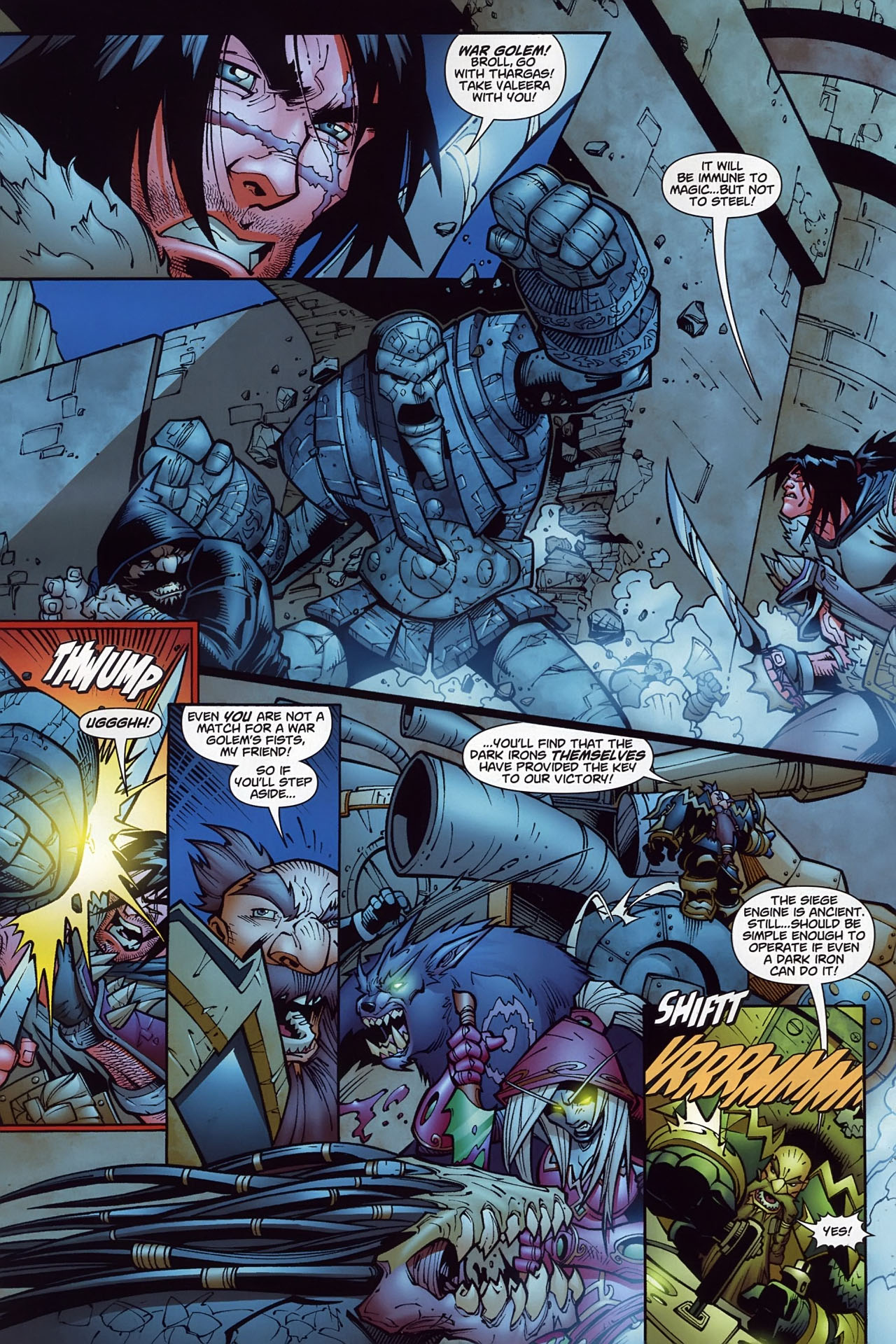 Read online World of Warcraft comic -  Issue #10 - 15