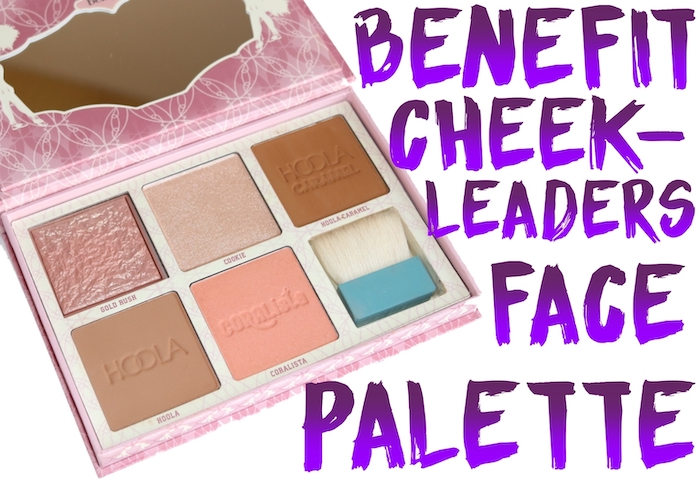Review, swatches, and demo of the Benefit Cheekleaders Bronze Squad Face Palette, and for a comparison with the Benefit Blush Bar.