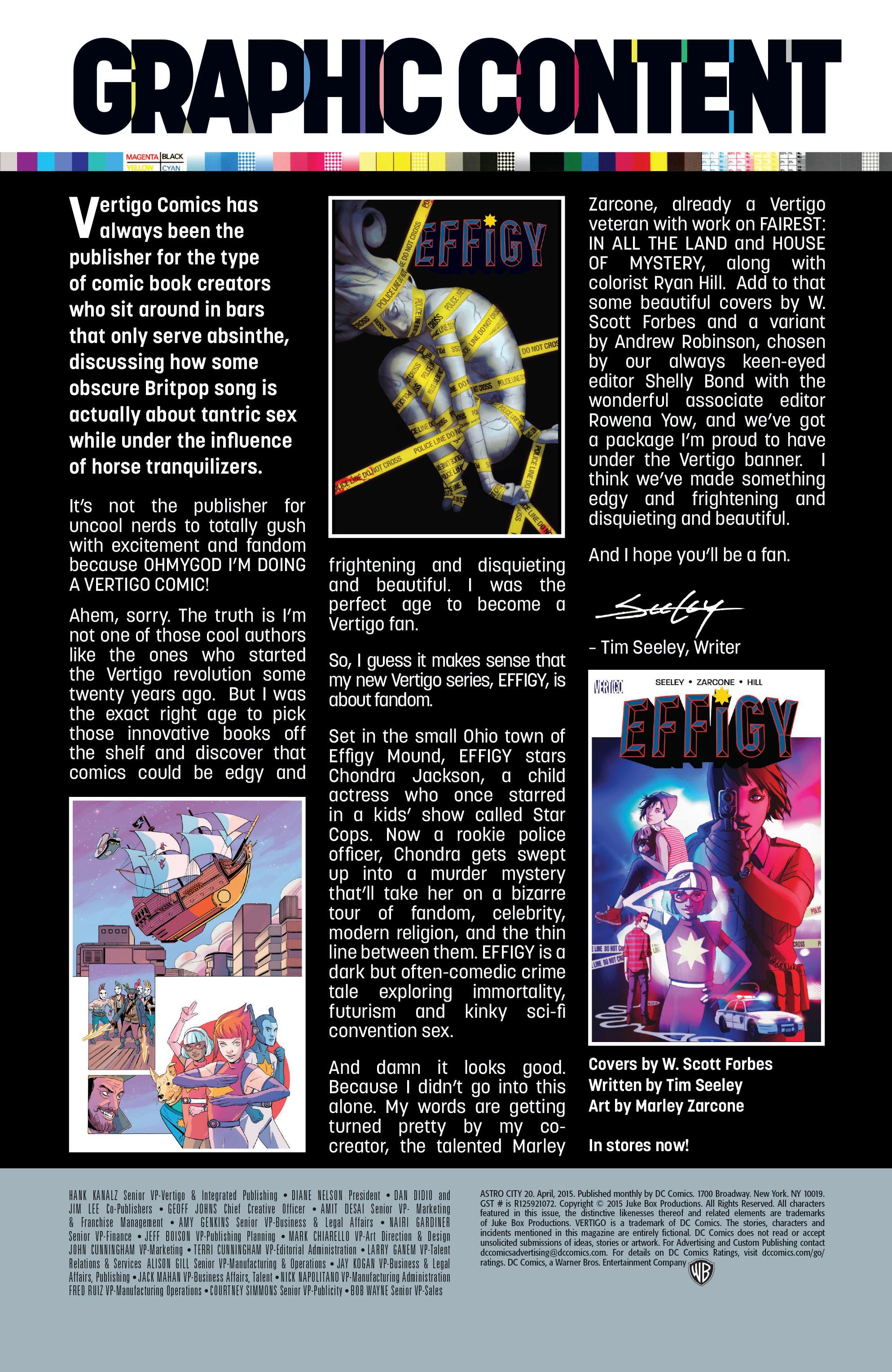 Read online Astro City comic -  Issue #20 - 27