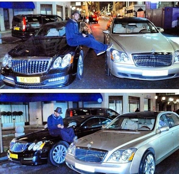 Welcome To Ify's Blog: Photos : Samuel Eto'o Shows £4m