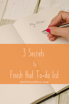 to-do list, productivity, secrets to success