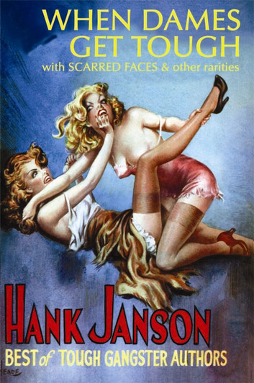 Blonde On The Spot (Hank Janson Book 12)