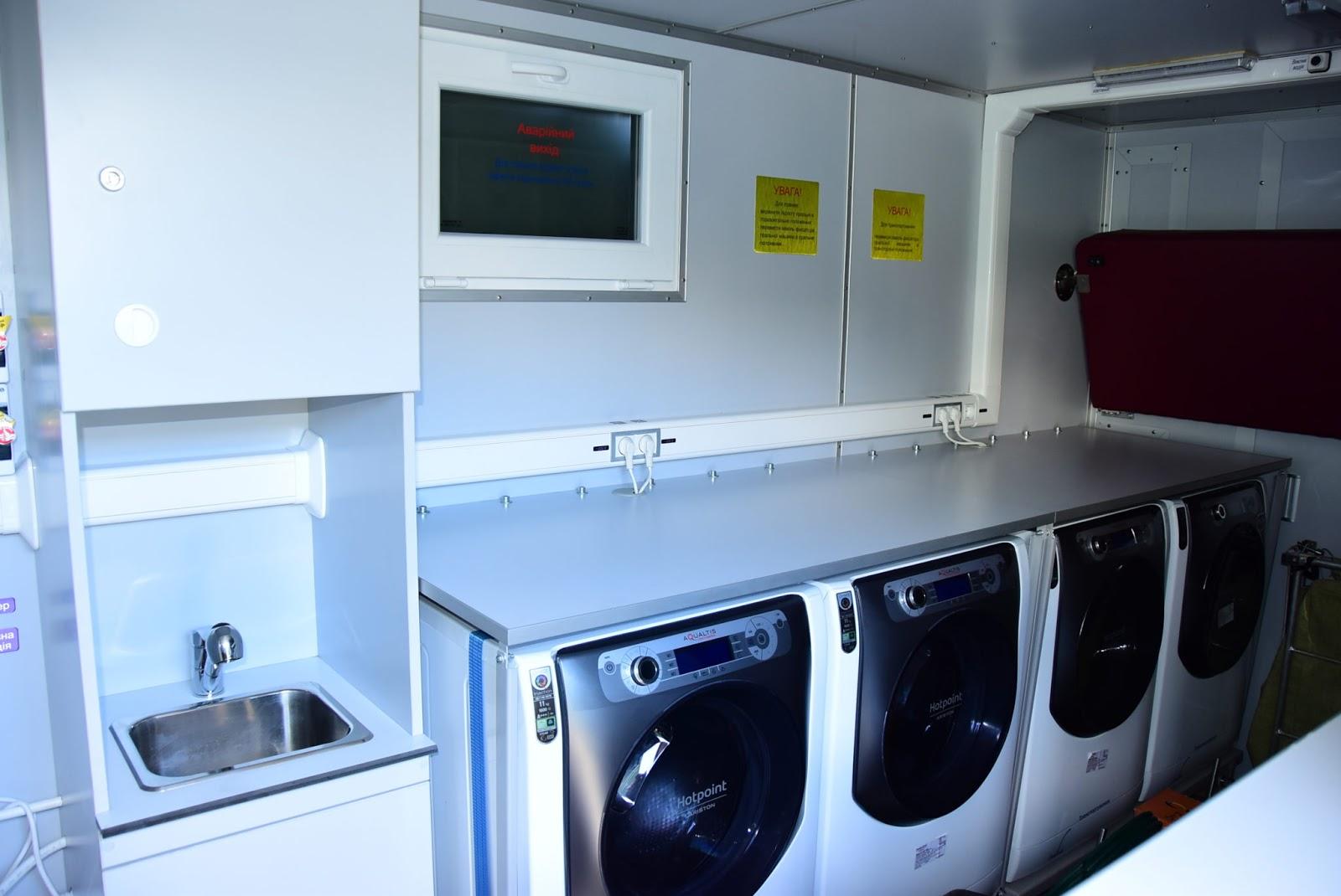 мобільних лазне-пральних комплексів
